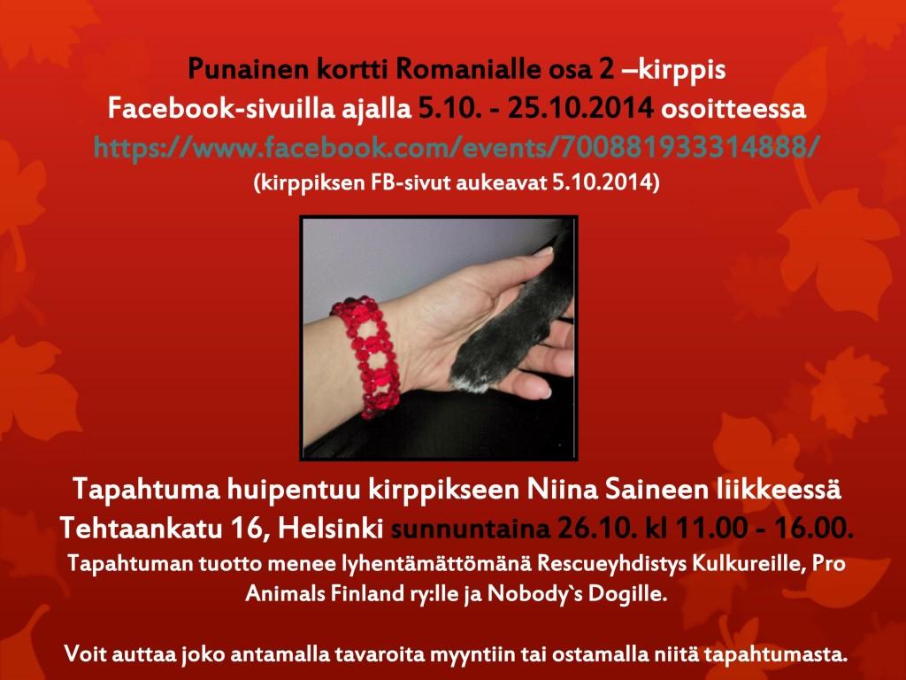 Punainen_kortti_Romanialle_kirppis