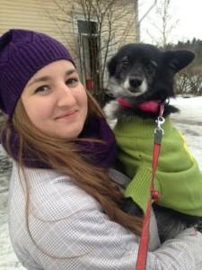 Alina ja Titi, adoptoitu Suflete Dragilta elokuussa 2011.