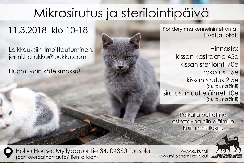 Kissan Sterilointi Hinta