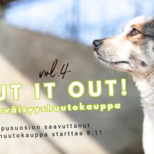 Shout it Out vol 4 hyväntekeväisyyshuutokauppa